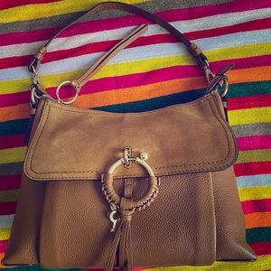 See by Chloe Joan Leather Shoulder Bag NWT